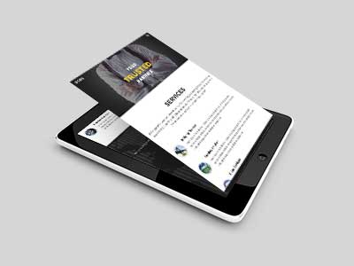 OSBSGroup website on mobile and tablet